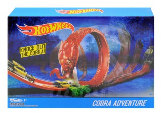 "Трек-запуск ""Hot Wheel"" ""Cobra Coil"" (+1 машинка) 2699 р.38*6,5*28см"